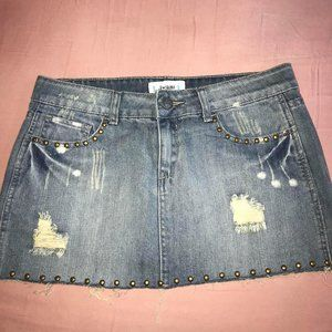 Jean Mini SKirt FREE w/other purchase